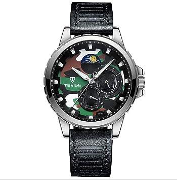 TEVISE Reloj de Los Hombres de Primeras Marcas de Lujo Reloj Automático de Los Hombres Relojes Mecánicos Relojes de Acero Inoxidable Luminoso Impermeable ...