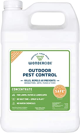 Amazon Com Wondercide Natural Products Ecotreat Outdoor Pest Control Spray Concentrate Mosquito Ant Roach And Insect Killer Treatment And Repellent Safe For Pets Plants Kids 1 Gallon Pet Supplies