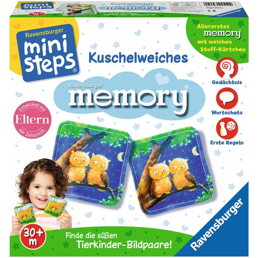 Ravensburger 04512 - ministeps Kuschelweiches Memory Spiel Ravensburger Spielverlag
