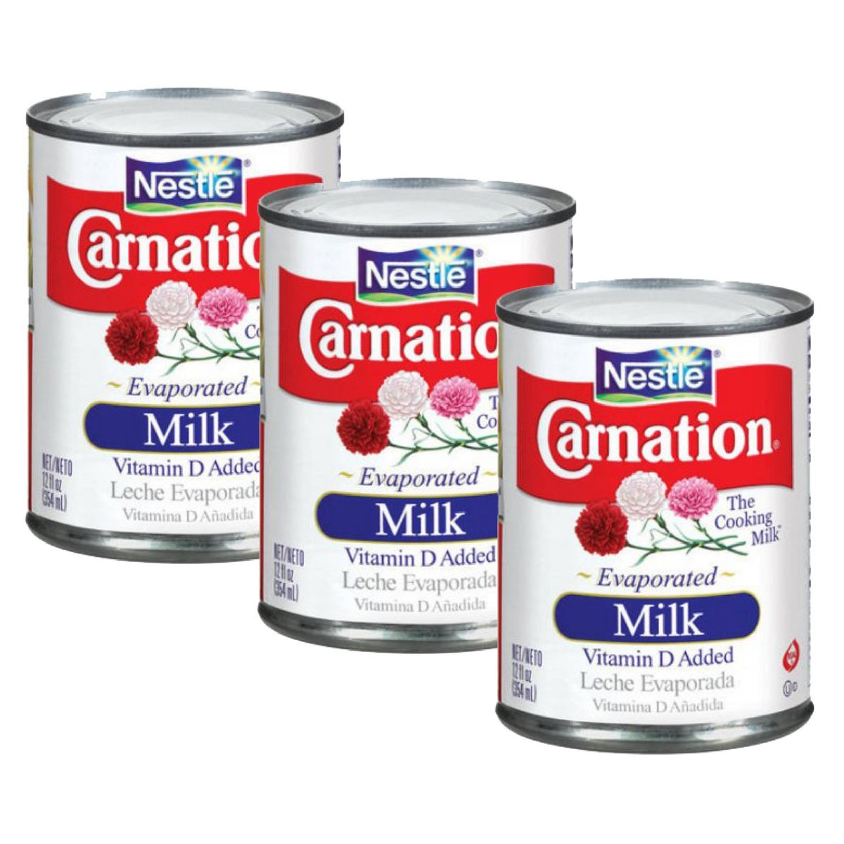Amazon.com : Nestlé Carnation Evaporated Milk 12oz (Pack of 3) : Grocery & Gourmet Food