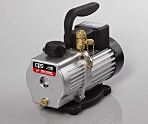 CPS Products VP4S Pro-Set Single Stage Vacuum Pump, 3 cfm, 10 Micron