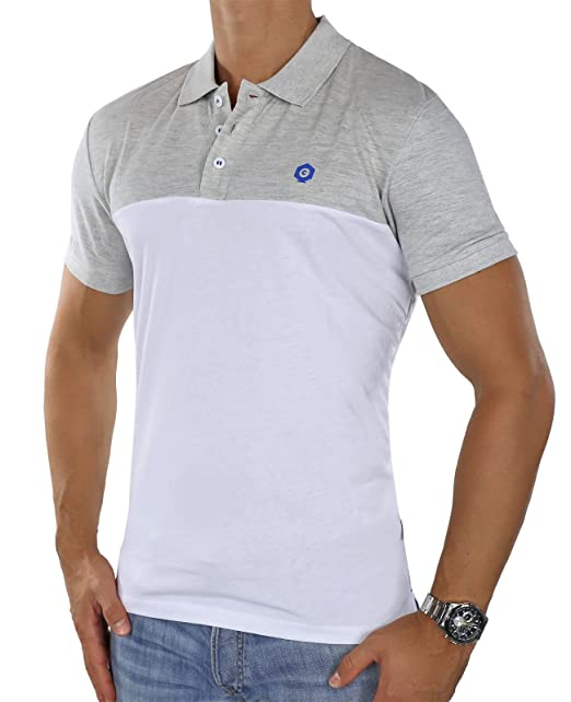JACK & JONES - Polo - Manga Corta - para Hombre Blanco White ...