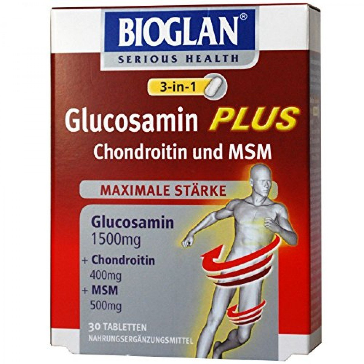 Bioglan 3-in-1 Glucosamine Plus Chondroitin and MSM: Amazon ...