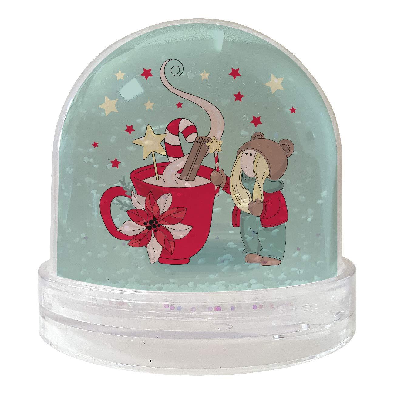 My Custom Style Bolas Globi de Nieve Mixtas: # Navidad A # 9 x 9 cm: Amazon.es: Hogar