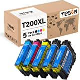 TESEN Remanufactured 200XL Ink Cartridge Replacement for Epson 200 XL T200 T200XL to use with Epson Workforce WF-2510 WF-2520