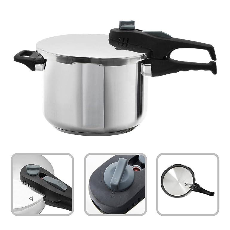 Todeco - Pressure Cooker, Pressure Pot - Capacity: 6L - Material ...