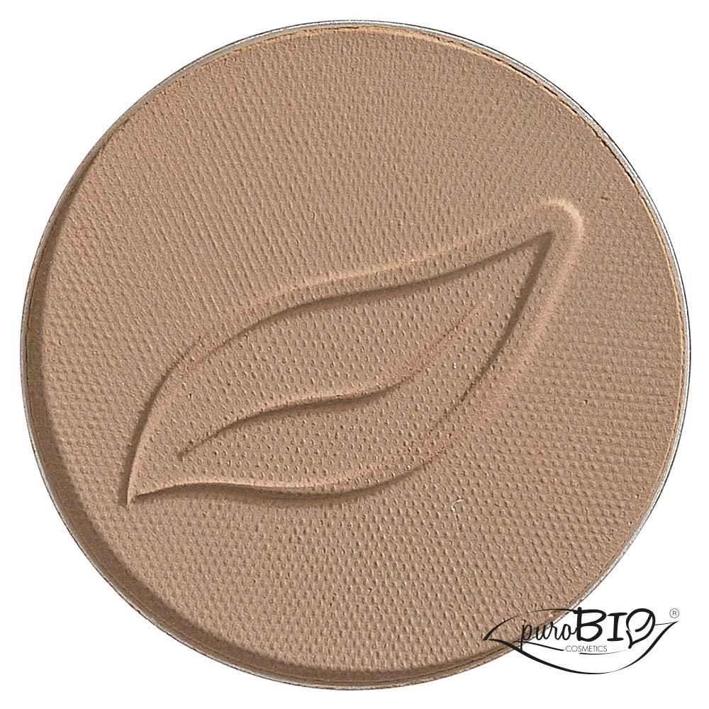 Amazon.com: Sombra de ojos Beige Mate 02 - PuroBio: Beauty