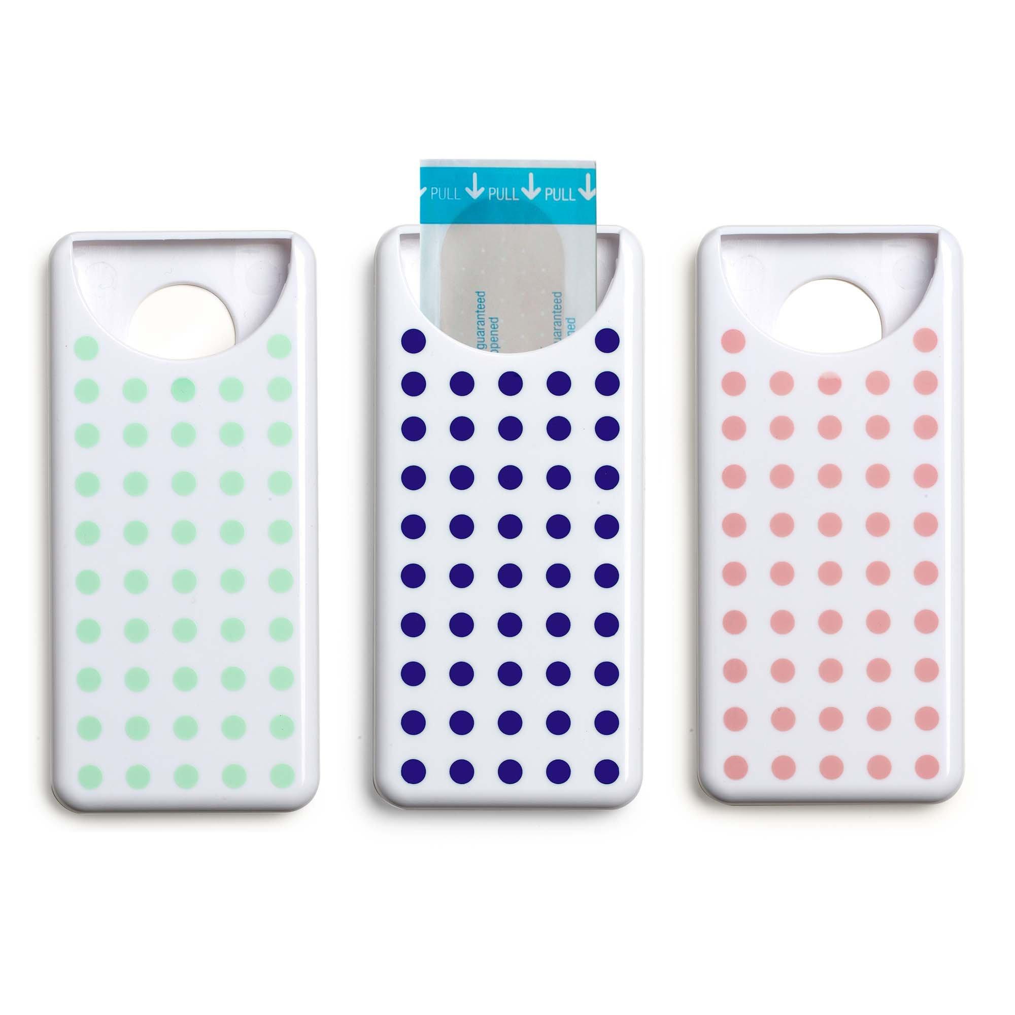 Design Ideas PatchUp Bandage Dispenser 4'' x 2'' x .5'' Bandage Holder