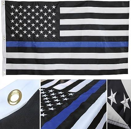 I Got Your 6 Thin Blue line Flag Pen Blank