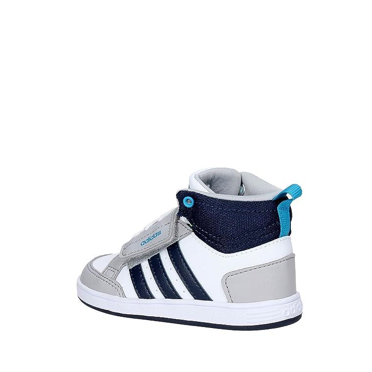 Adidas Vs ADV CMF Inf, Zapatillas Unisex Bebé, Blanco (Ftwbla/Azul/Escarl), 23 EU
