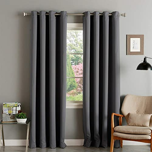 Abreeze Darkening Thermal Insulated Blackout Grommet Window Curtain