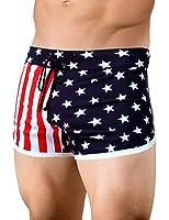 Men's American Flag Retro Running Short