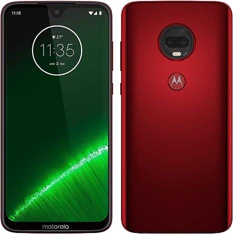 Motorola Moto G7 Plus - Smartphone Android 9, Pantalla 6.2 FHD+ Max Vision, Cámara Trasera 16MP con Estabilizador, Cámara Selfie 12MP, 4GB RAM, 64 GB, Dual SIM, Versión Española, Rojo: Lenovo: Amazon.es: Electrónica