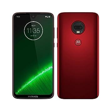 3d4217685fe Motorola Moto G7 Plus - Smartphone Android 9 (pantalla 6.2'' FHD+ Max Vision