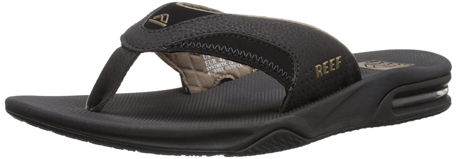 REEF R2026ALB, Chanclas Hombre, Negro (Black / Brown), 36 EU