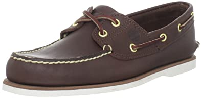 fantastic savings 2019 discount sale special for shoe Timberland Men's Classic 2-Eye Boat Shoe, Dark Brown, 10 M