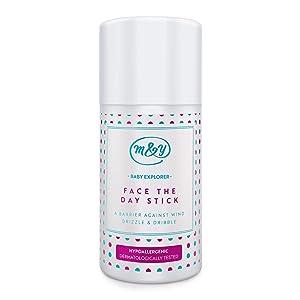 Stick Baby Face The Day di Mum & You con oli di cocco, cera d'api e burro di karité, per prendersi cura della pelle in modo naturale. Proteggi il viso del tuo bambino da pelle irritata