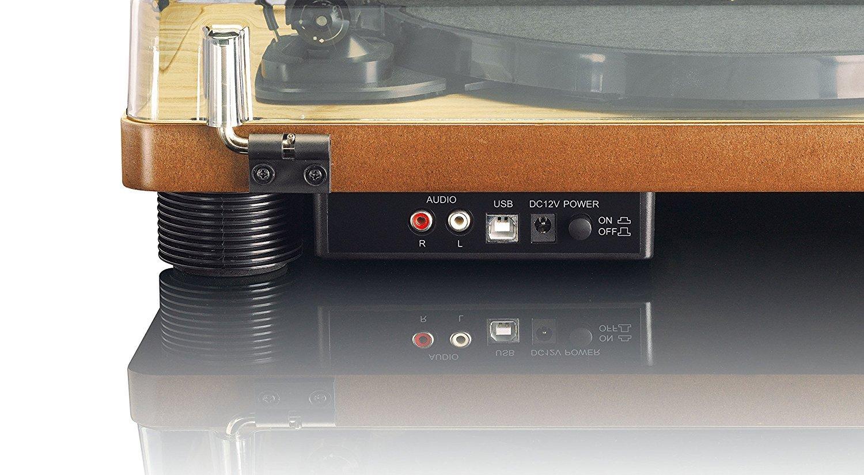 Lenco LS-50WD Tocadiscos, 33, 45 y 78 RPM, Color Madera: Amazon.es ...