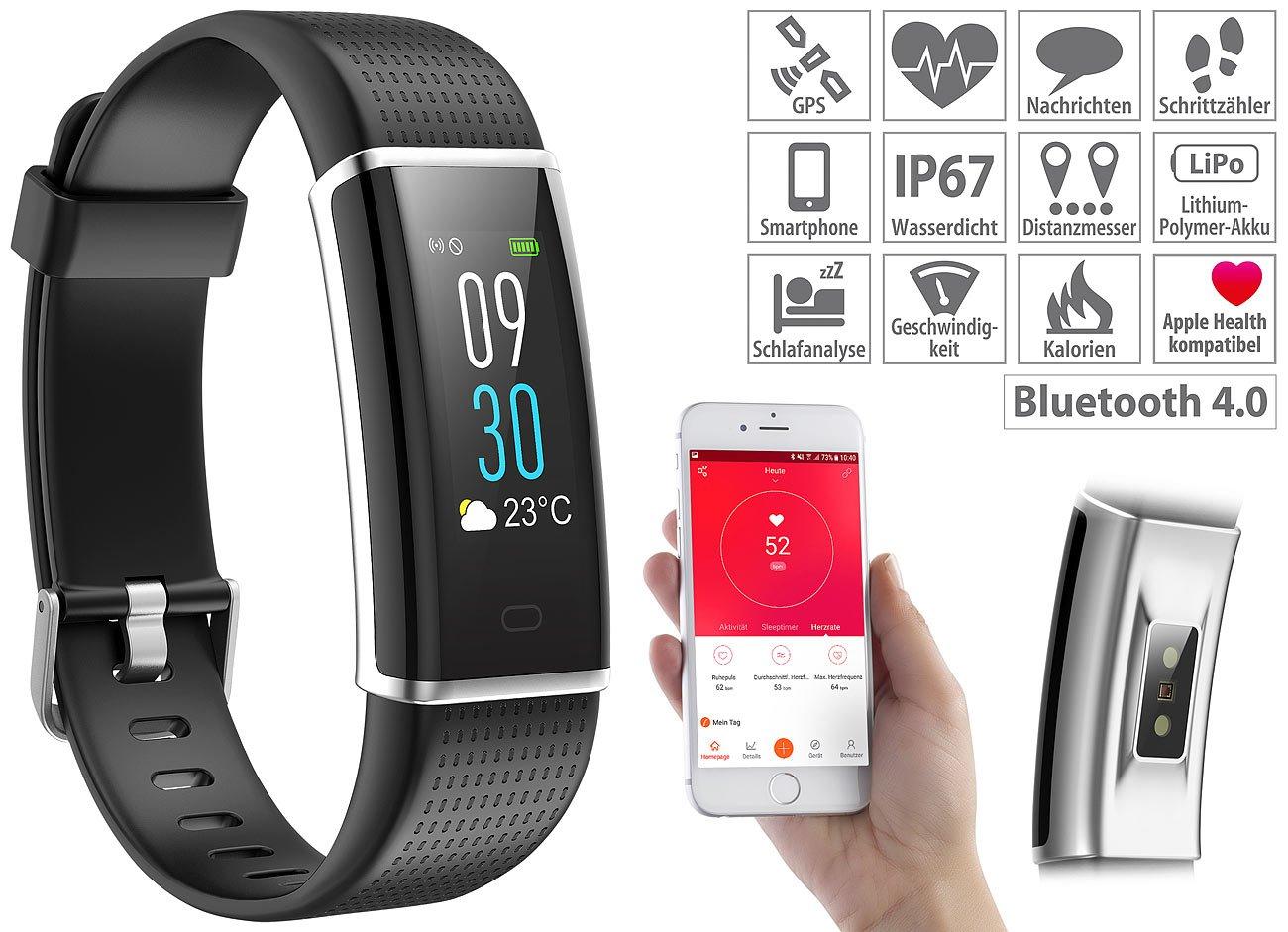 Newgen Medicals - Fitness Reloj: Fitness de pulsera, GPS de ...