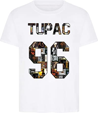Camiseta unisex Tupac 96 de Hip Hop Legend West Cost Rap Zoo 2pac Notorious Big Biggie Smalls: Amazon.es: Ropa y accesorios
