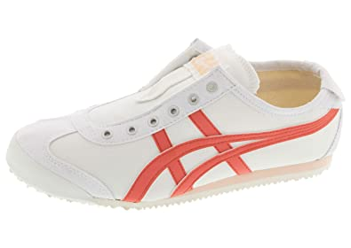 49ebedf824076 Amazon.com | Onitsuka Tiger Women's Mexico 66 Slip-On White/Sienna ...