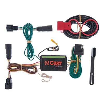 CURT 56120 Vehicle-Side Custom 4-Pin Trailer Wiring Harness for Select Ford Edge: Automotive