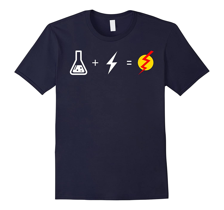 Flash Equation - T shirt Funny-CD