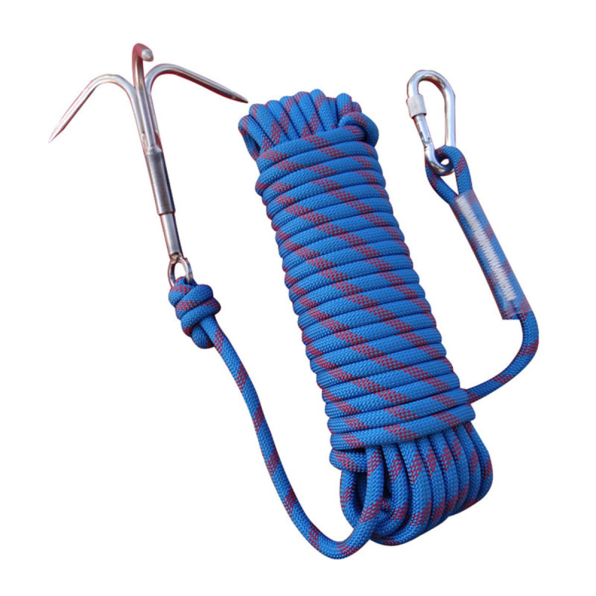 Wolike 10,20 Meters Length Professional Climbing Rope Rappelling Abseiling Rope