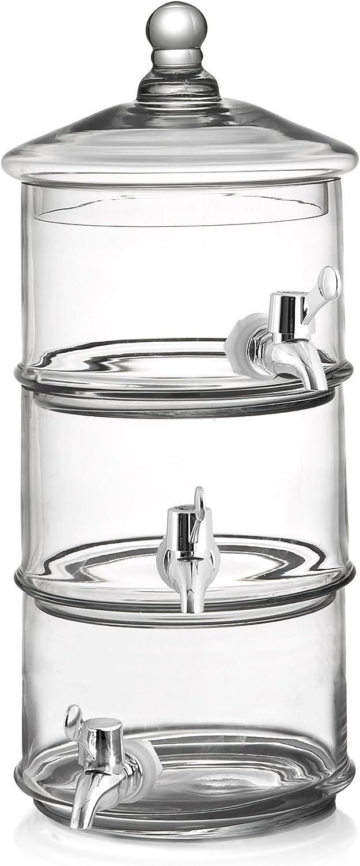 Fifth Avenue Crystal Royal Glass Beverage Dispenser