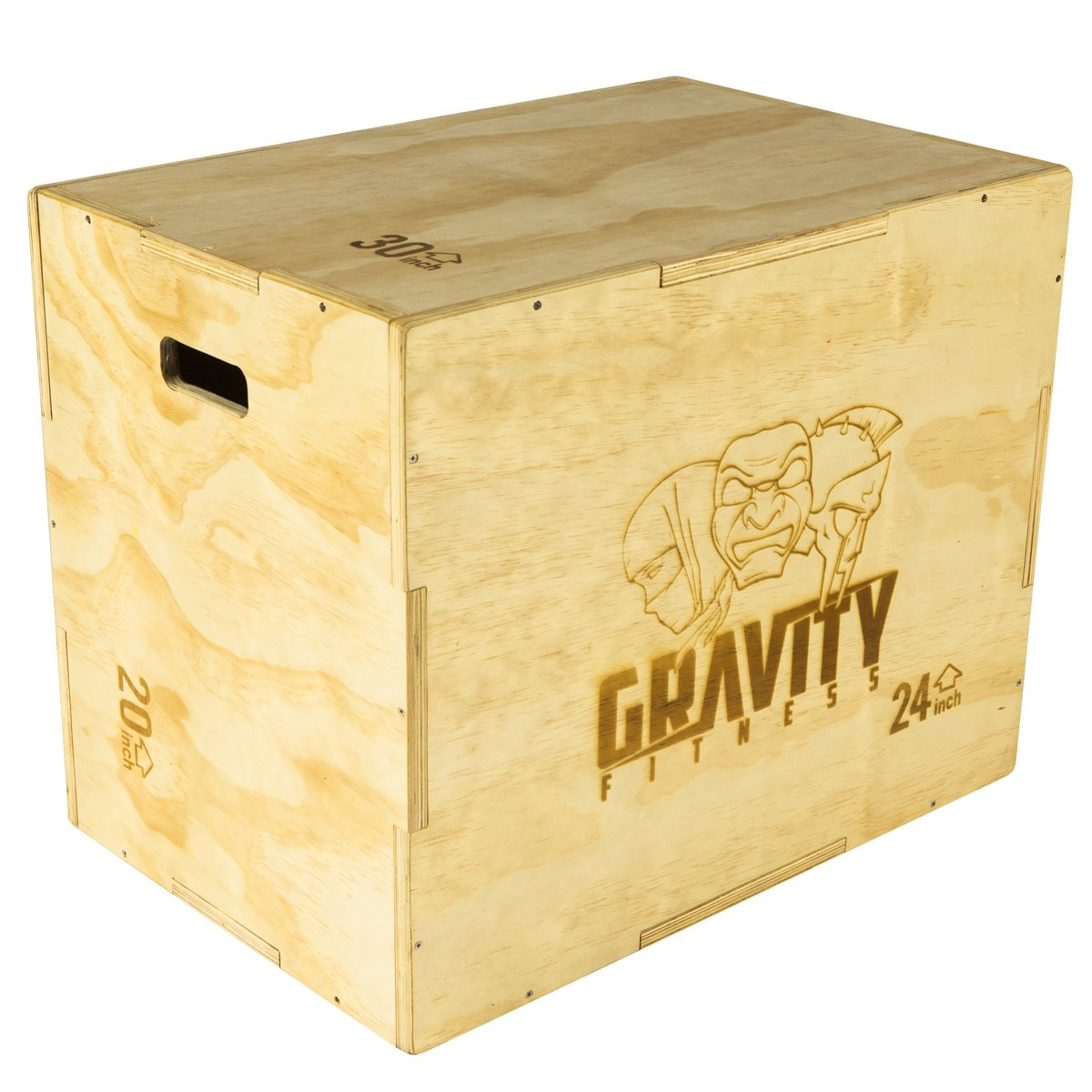 Gravity Fitness 3-in-1 Plyometrischer Sprungkasten