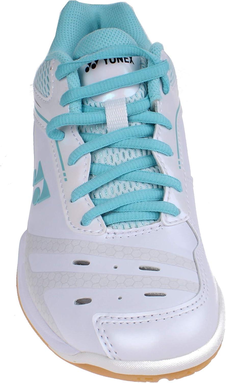 White//Mint Yonex Power Cushion 65X Ladies Badminton Shoes