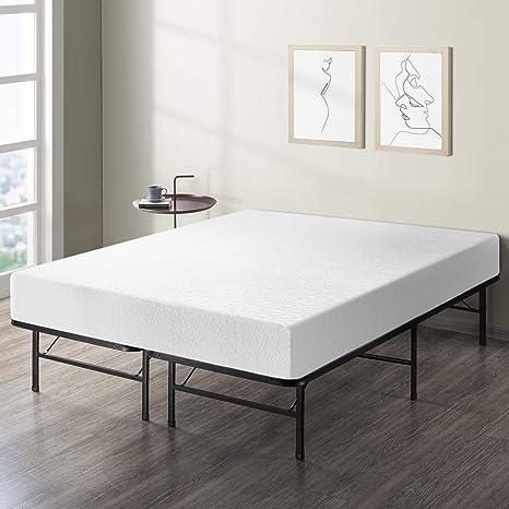 reputable site 7e251 ed14f Best Price Mattress 10-Inch Memory Foam Mattress and Bed Frame Set, Full