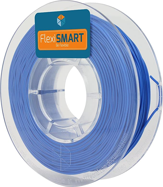 FlexiSMART Azul 250 g. Filamento Flexible TPU 1.75mm para ...