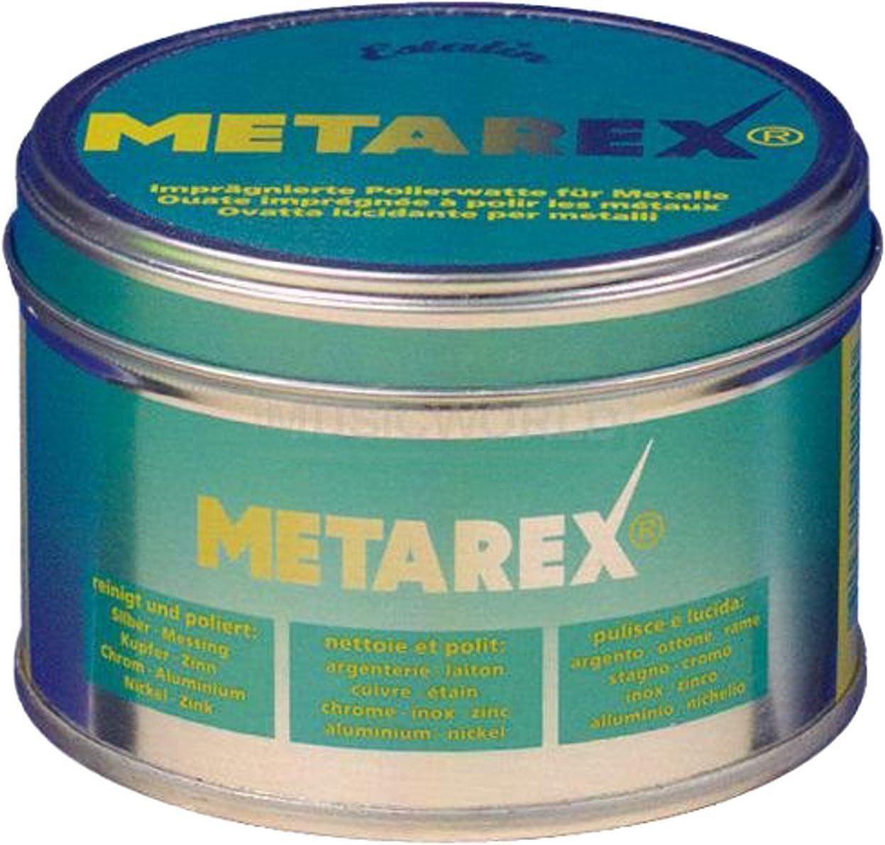 As Arnolds Sons Metarex Polierwatte Und Politur Für Alle Metalle 100 Gramm Dose Musikinstrumente