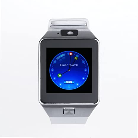 vinteky® DZ09 Bluetooth inteligentes Smartphones Reloj Inteligente Phone cámara SIM tarjeta soporte OS Android –