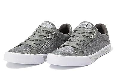 b9fe60f5cd1d Guess Chaussure Femme meggie FLMEG1 FAM12 Sneaker  Amazon.fr  Chaussures et  Sacs