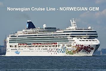 Amazoncom CRUISE SHIP FRIDGE MAGNET NORWEGIAN CRUISE LINE - Norwegian gem cruise ship