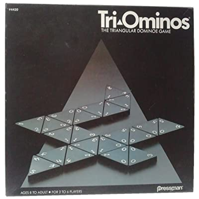 Tri-Ominos; the Triangular Dominoe Game (1968; re-issued 1985): Toys & Games