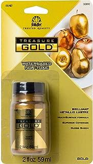 product image for FolkArt Gold Treasure Paint 2oz 16 Fl Oz