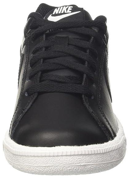 Amazon.com | NIKE Court Royale Women's Sneaker Size US 6 M Black/Metallic  Silver | Fashion Sneakers