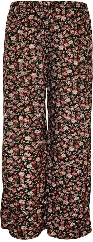Click Selfie Ladies Floral Printed Palazzo Trousers