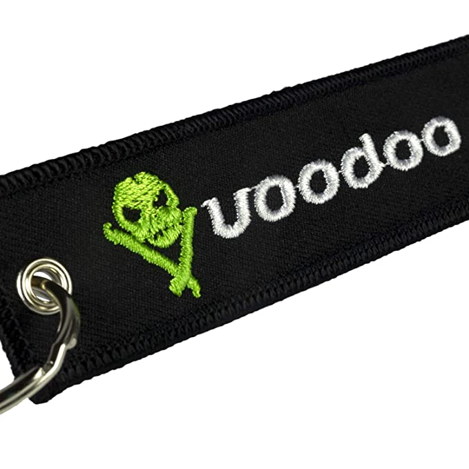 Amazon.com: Voodoo Ride VRKC1 Pull Tag Keychain: Automotive