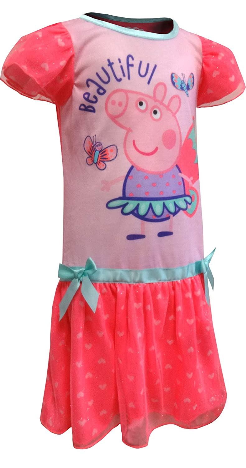 Peppa Pig Girls Toddler Dressy Nightgown