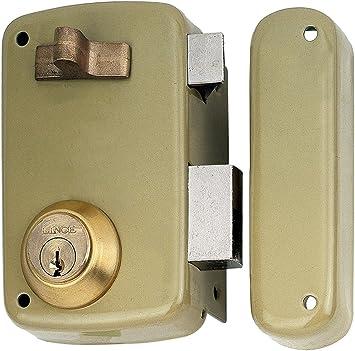 Lince 3017120 Cerradura 5056-ap/ 60 Derecha, Oro: Amazon.es ...