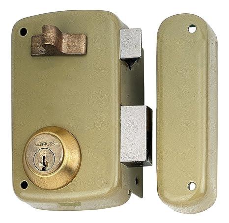 Lince 3017130 Cerradura 5056-ap/ 70 Derecha, Oro