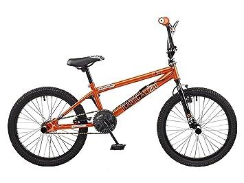 5b8eec5f817 Rooster Kids' Radical Bike, Black/Orange, Medium: Amazon.co.uk ...