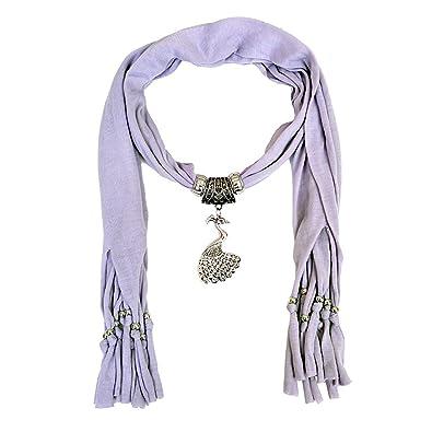 Buy scarf necklace purple dupatta stole muffler wrap scarf necklace scarf necklace purple dupatta stole muffler wrap scarf necklace scarf pendant scarf scarves for girls women aloadofball Gallery