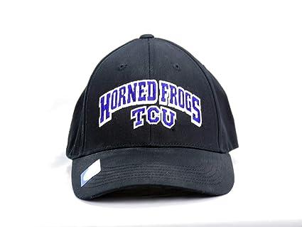 47b95be6994 Captivating Headwear Texas Christian University TCU Horned Frogs Cap (Black)
