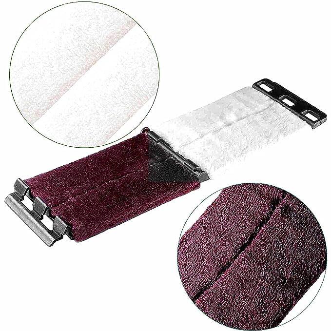 Wingo limpiador de cuerdas para guitarra - Ultra suave microfibra gamuza de limpieza polaco herramienta para cuerdas y diapasones, Premium Reissue ...