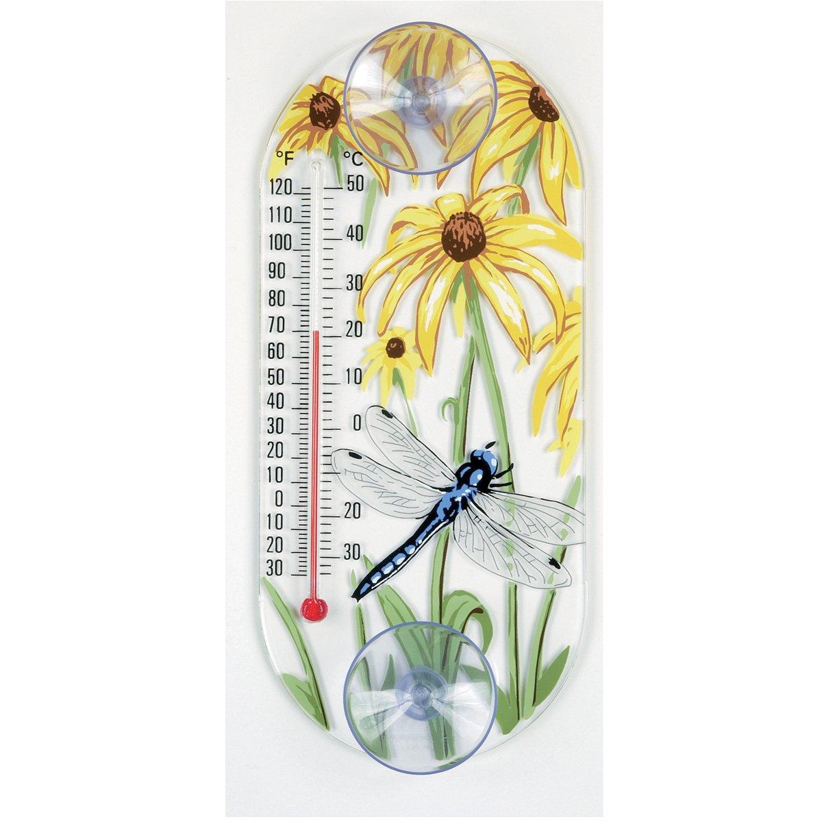 Aspects 338 Dragonfly finestra termometro